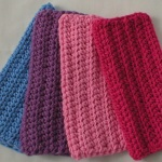 Crochet dishcloths (#5552)