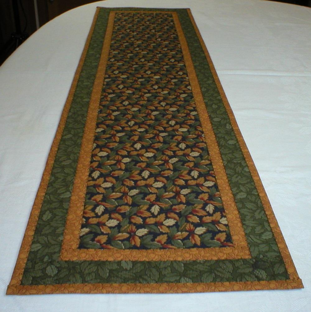 Handmade quilted table runner for Table runner