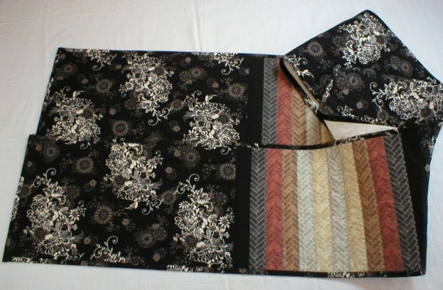 Handmade Quilted Long Table Runner (#5934)