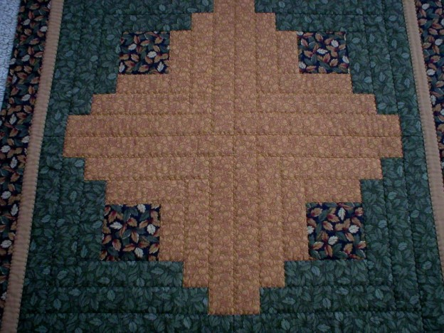 Patchwork Square Table Topper (6009)