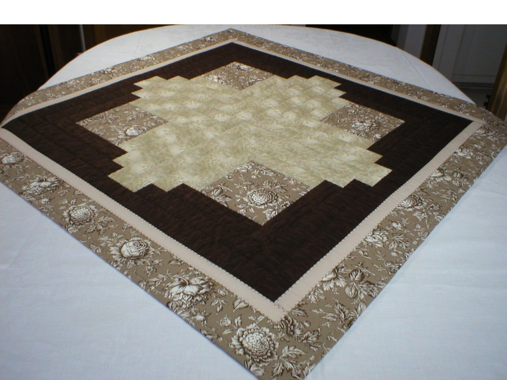 Handmade Square Patchwork Table Topper