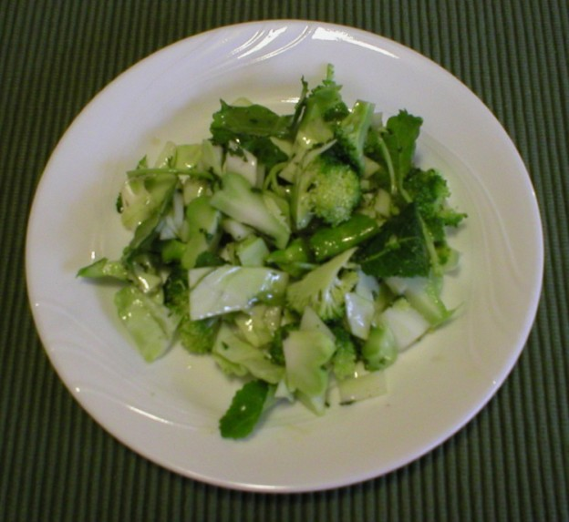 Marinated Cruciferous Salad