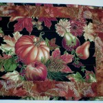 End view of table runner #6030