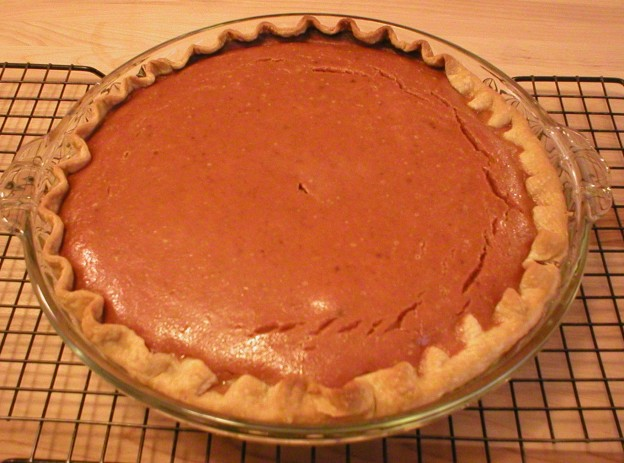 Pumpkin Pie (Bakery Recipe)