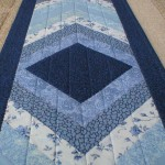 "Handmade Quilted Table Runner2040 (13""x52"")"