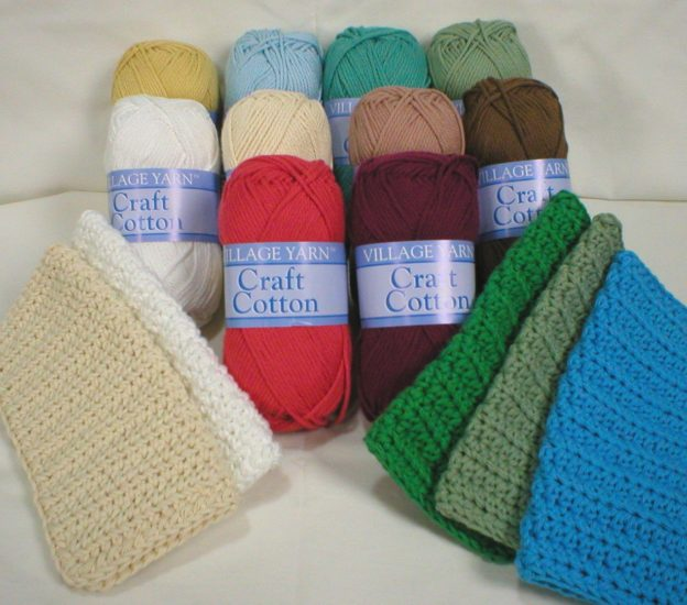 Village Yarn Brand Craft Cotton Yarn