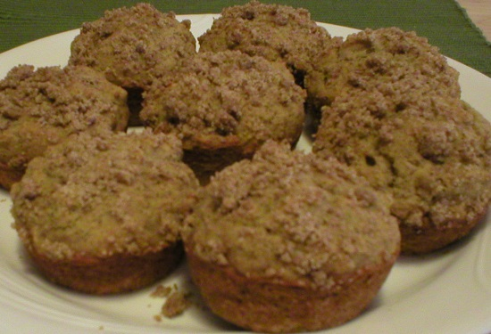 Moist Gluten Free Cinnamon Muffins
