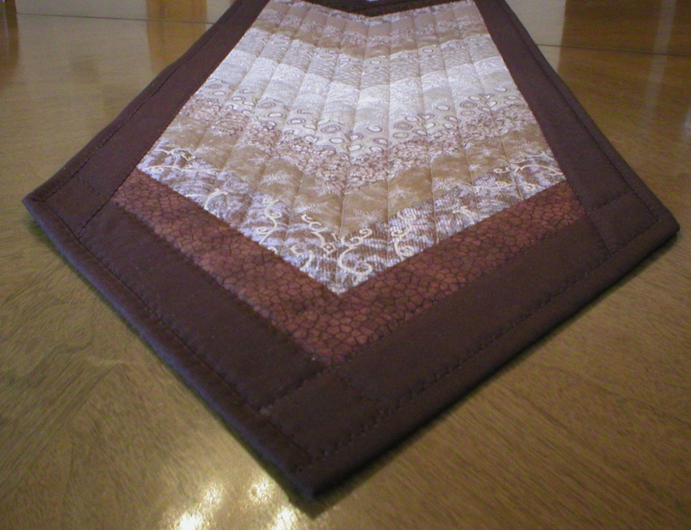 long quilted table runners