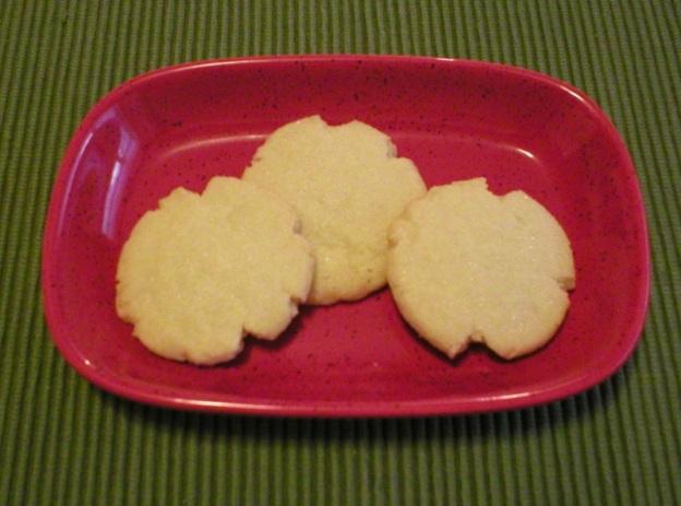Almond Butter Shortbread Cookies