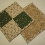 Handmade Quilted Hot Pads (notpads-19)