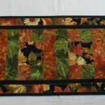 Handmade Quilted Table Runner (31-40-5590)