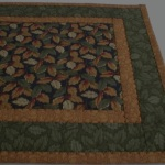 End view of table runner 5613