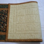 View of Backing (Quilted Table Runner 5613)