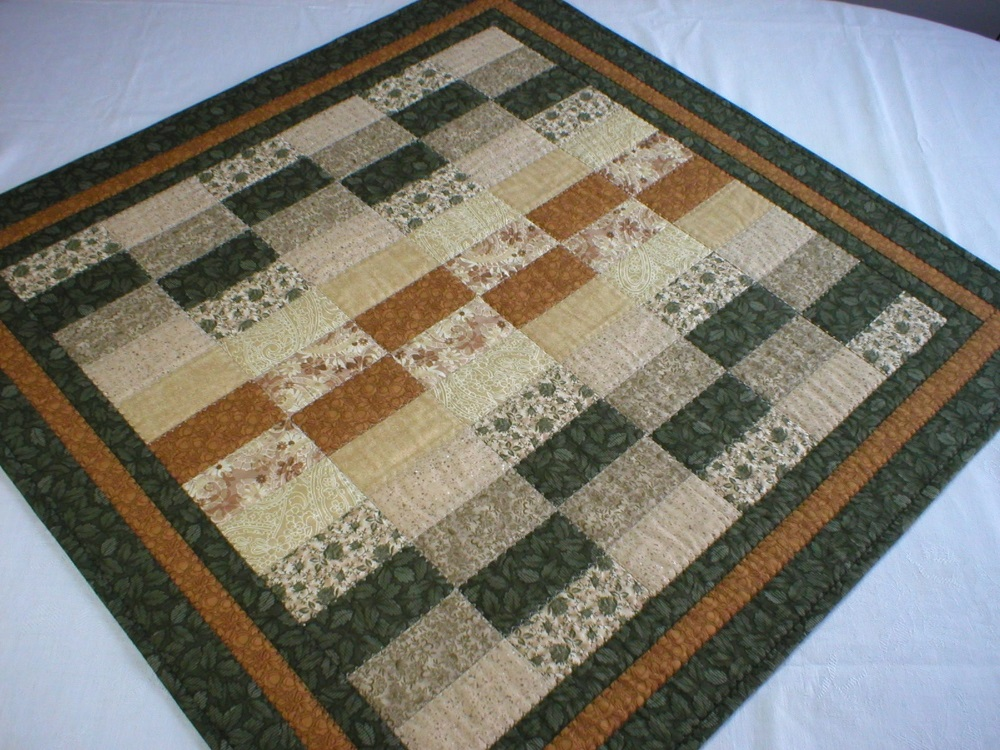 Handmade Patchwork Square Table Topper