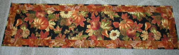 New Fall Harvest Quilted Table Runners