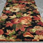 Fall harvest table runner 6047