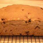 Baked Cinnamon Raisin Bread