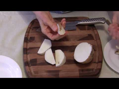How to Cut and Store Jicama