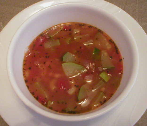 Zucchini Pasta Soup