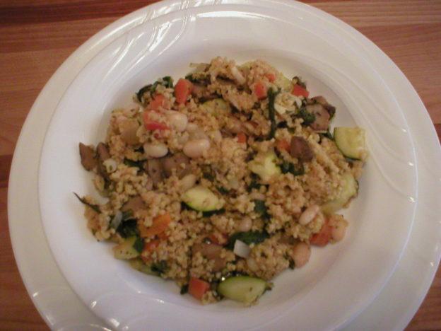Millet Vegetable Pilaf