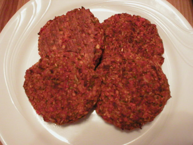 Red Lentil Vegetable Patties