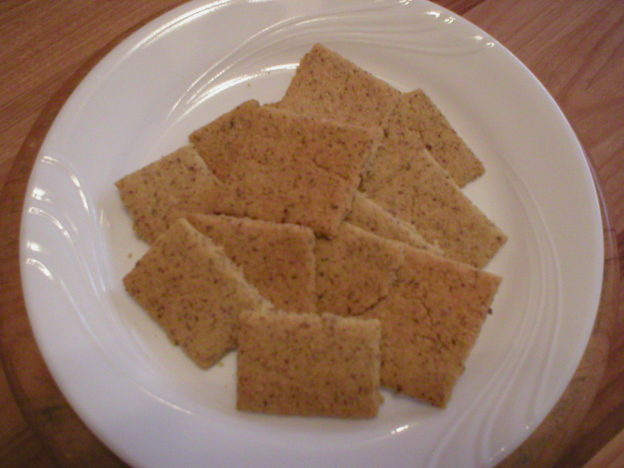 Rice Chickpea Crackers